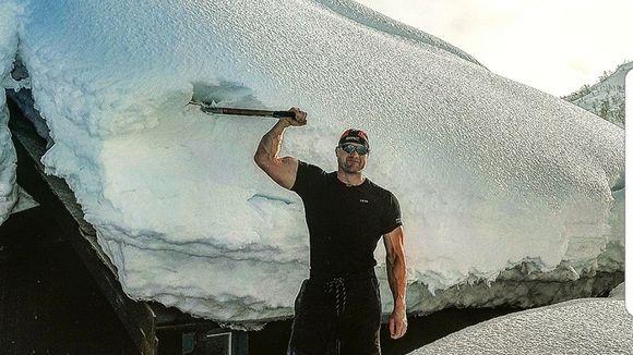 snø i australia